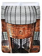 Continental Hotel Zara Main Entrance - Budapest Duvet Cover