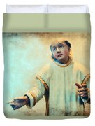 Conversation With God Duvet Cover