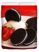 Cookies N Cream Duvet Cover