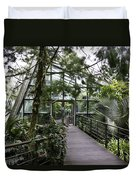 Cool House Inside The National Orchid Garden In Singapore Duvet Cover