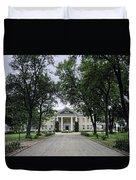 Copper King Daly's Riverside Mansion - Hamilton Montana Duvet Cover
