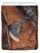 Cork Oak Quercus Suber Bark Duvet Cover