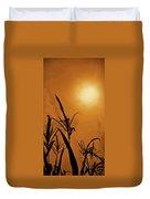 Corn Field Haze  Duvet Cover