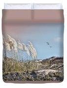 Coronado Island Pampas Grass Duvet Cover