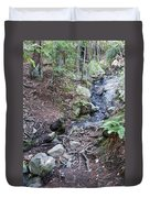 Corte Madera Creek On Mt Tamalpais Duvet Cover
