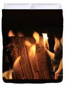 Cosmic Fire Duvet Cover