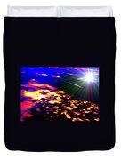 Cosmic Flare Duvet Cover