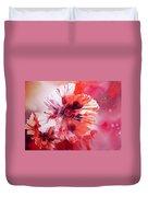 Cosmic Poppies Duvet Cover