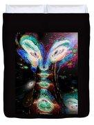 Cosmic Smurf Duvet Cover