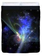 Cosmic Strands Of Gaseous Filament Duvet Cover