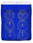 Cosmological Models Duvet Cover by Science Source