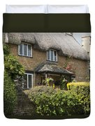 Cotswold Thatched Cottage Duvet Cover