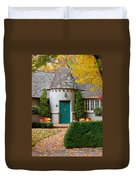 Cottage In The Park Duvet Cover