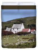Cottage, Ireland Duvet Cover