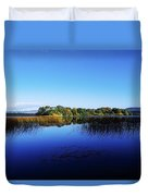 Cottage Island, Lough Gill, Co Sligo Duvet Cover