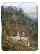 Cottage Near Witley Surrey Duvet Cover