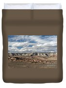 Cottonwood Canyon Badlands Duvet Cover