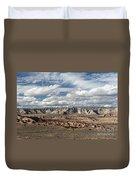 Cottonwood Canyon Badlands Duvet Cover