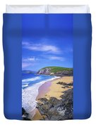 Coumeenoole Beach, Dingle Peninsula, Co Duvet Cover