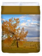 Country Autumn Landscape Duvet Cover by James BO  Insogna