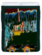 Country Church Duvet Cover
