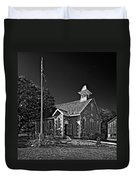Country Church Monochrome Duvet Cover