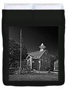 Country Church Monochrome Duvet Cover