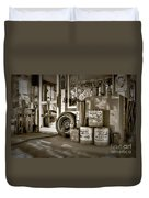 Country Dream'n In Maine Duvet Cover