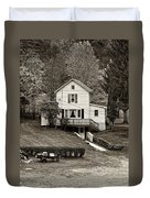 Country Living Sepia Duvet Cover