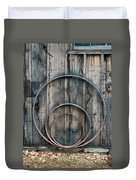 Country Rings Duvet Cover by Susan Candelario