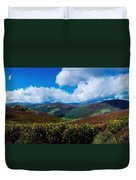 Country Road, Near Luggala Mountain, Co Duvet Cover