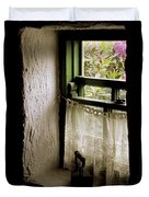 County Kerry, Ireland Cottage Window Duvet Cover