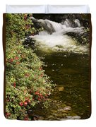 County Kerry, Ireland Fuchsia Bush Duvet Cover