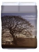County Tyrone, Ireland Winter Morning Duvet Cover