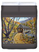 Covered Bridge 04 Duvet Cover