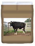 Cow With Johnes Disease Duvet Cover