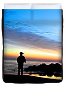 Cowboy Sunrise Duvet Cover