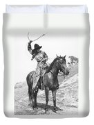 Cowgirl, C1920 Duvet Cover