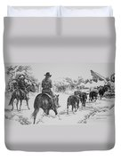 Cowgirls Are Cowboys Too Duvet Cover