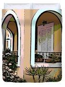 Cozy Arches Duvet Cover