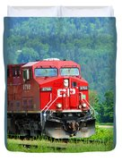 Cp Coal Train Duvet Cover