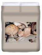 Crab Shell Duvet Cover