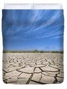 Cracked Lake Bed Duvet Cover