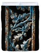 Crackled Coats Duvet Cover