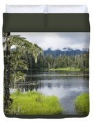 Crane Lake, Tongass National Forest Duvet Cover