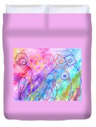 Crazy Flower Garden Duvet Cover