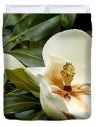 Creamy Magnolia Duvet Cover