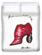 Creativity Shoe Duvet Cover
