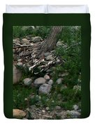 Creek Flow Panel 4 Duvet Cover