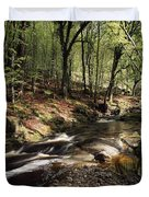 Creek In Woods, Cloughleagh, County Duvet Cover